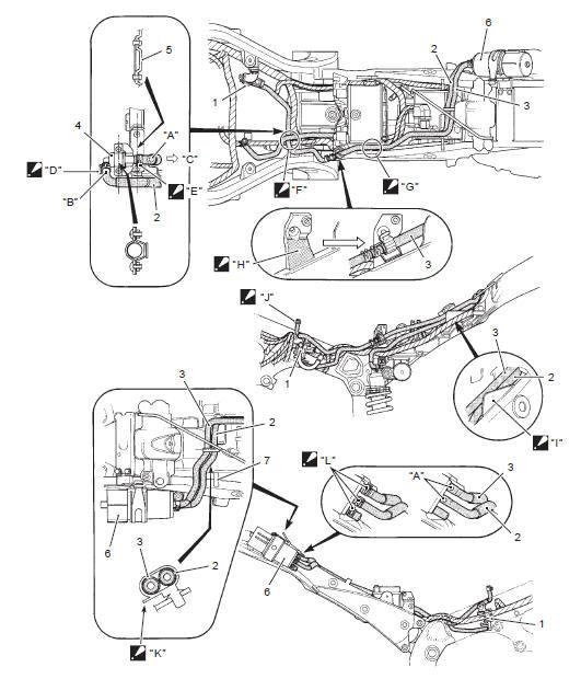 Suzuki GSX-R 1000 Service Manual: Evap canister hose