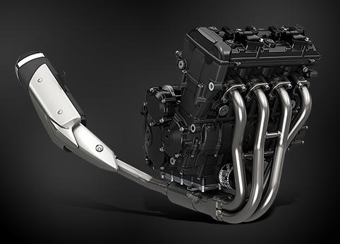 DOHC 4V 並列四缸引擎