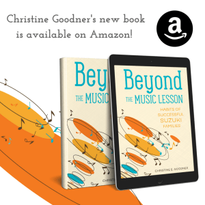 Suzuki resource Beyond the Music Lesson