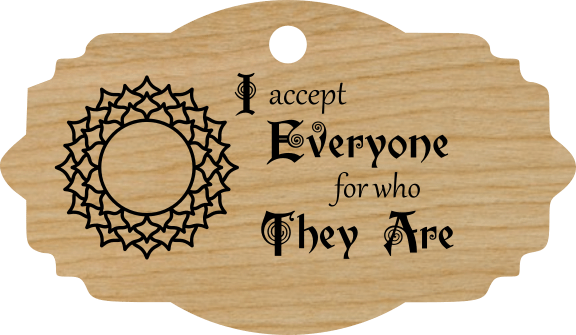 I accept Everyone for who They Are