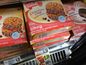 good humor chocolate chip cookie sandwich price