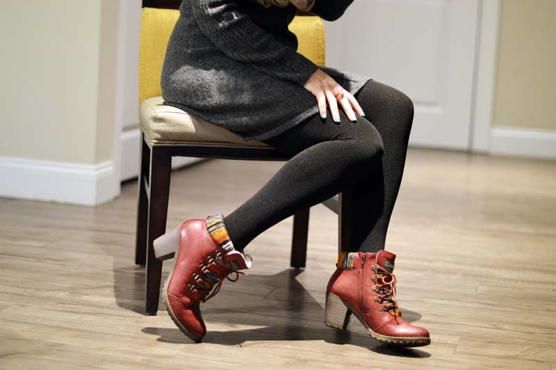 Let me introduce you to my new favourite ankle boots from JD Williams...