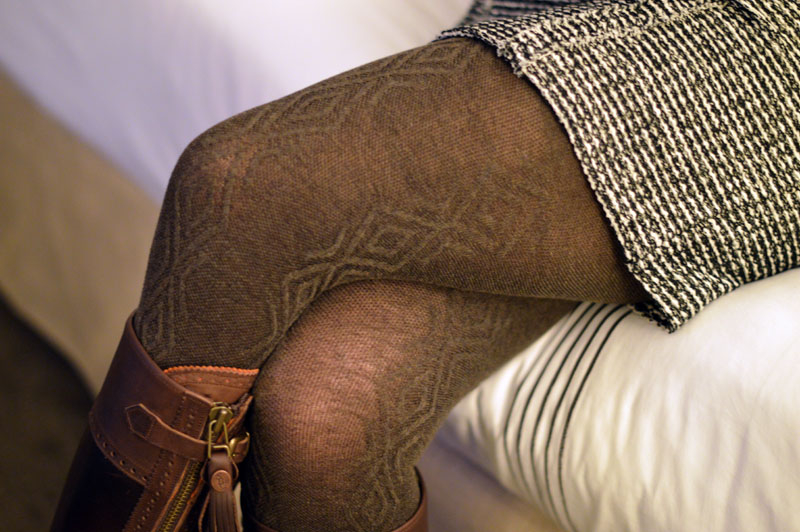 My winter wardrobe must-have: tights