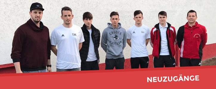 Neuzugänge für die Saison 17/18 - Fußballverein im Saarland