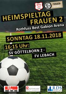 Heimspiele am 18. November - Fußballverein im Saarland