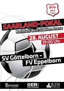 Saarlandpokal 28. August - Fußballverein im Saarland