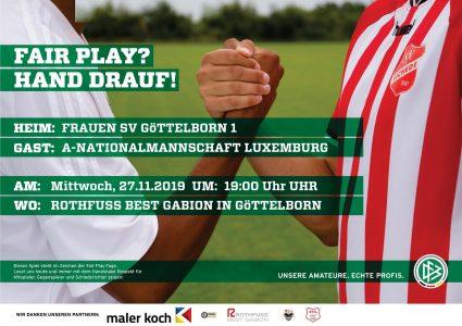 DFB Spieltag - Fußballverein im Saarland