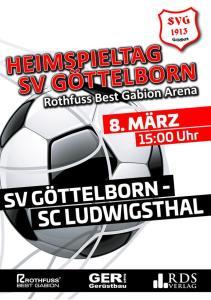 Heimspiel am 8. März - Fußballverein im Saarland