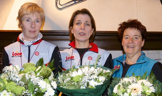 Masters C D E F 1 Astrid Jansen 2 Marja Roos 3 Anky Faber DSC 6680