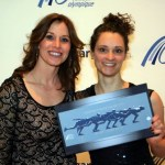 Suzanne Mulder met Catriona le May Doan