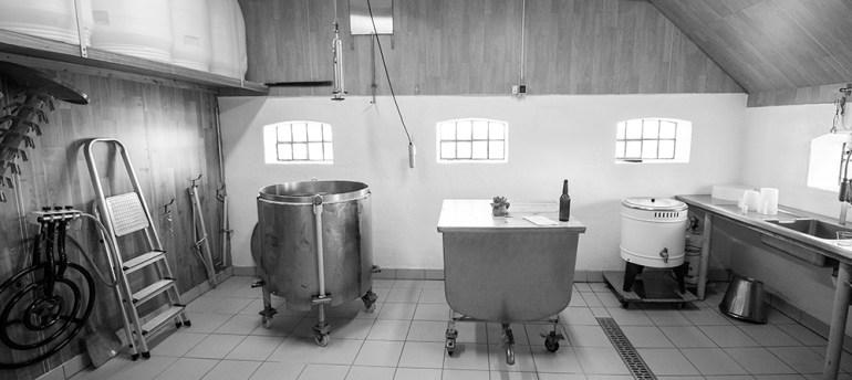 Bryglokalerne hos Ølleriet Håndgjow