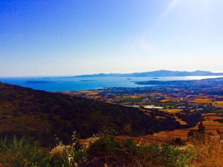 Paros Greece top of mountain