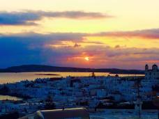Paros Greece fishermen village sunrise