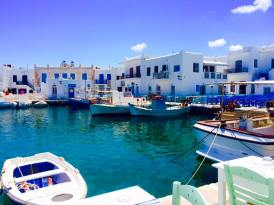 Paros Greece fishermen village