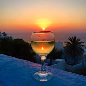 Santorini Sunsets Wine