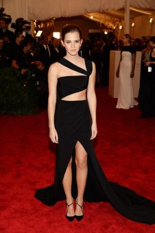 At the Met Gala in 2013 in a Prabal Gurung gown.