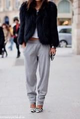 how to wear sweatpants like a true stylish european