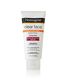 Neutrogena Clear Face Oil Free SPF 30