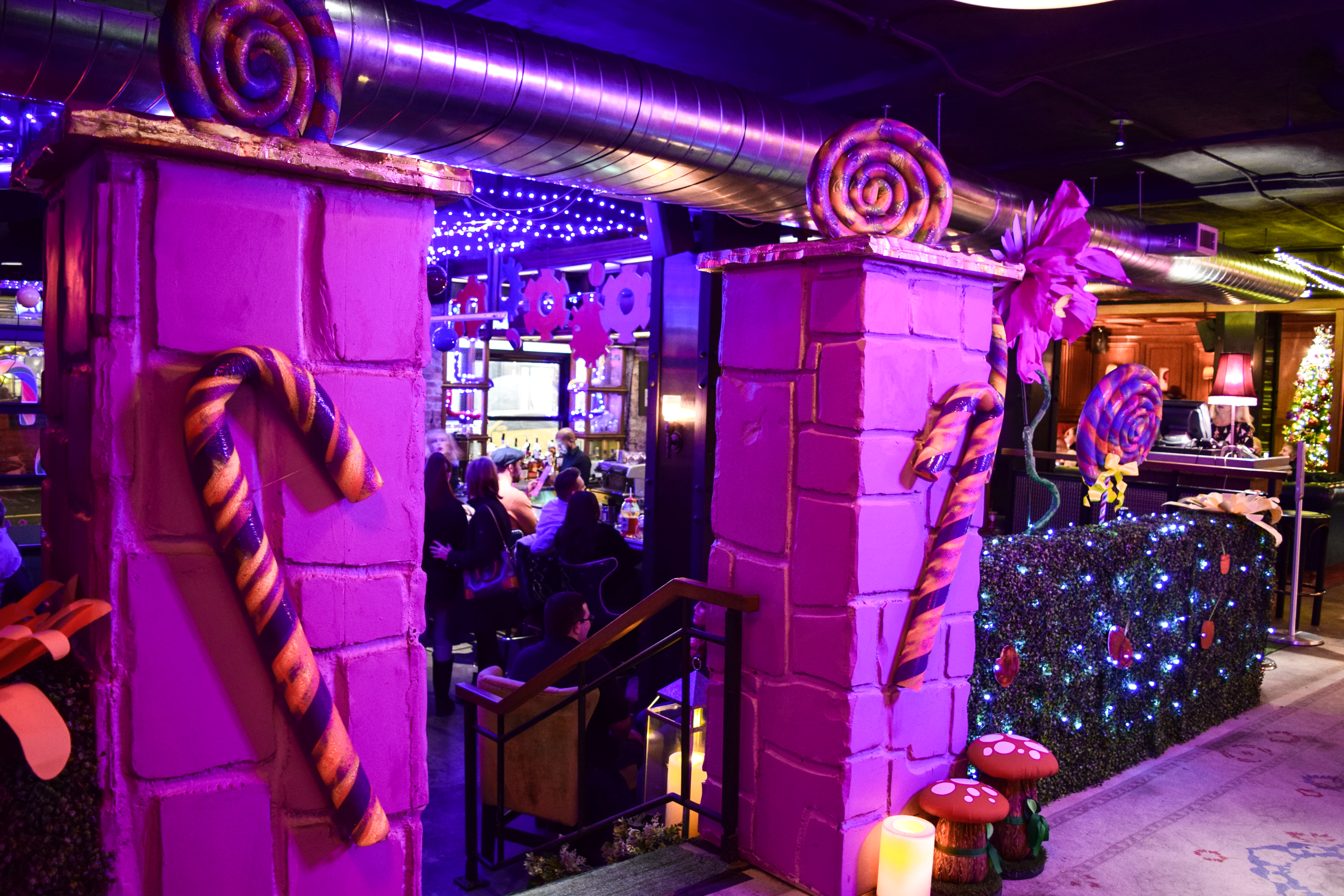 Willy Wonka Pop-Up Bar Now Open On The UWS cocktails LOCL bar Nylo hotel-3