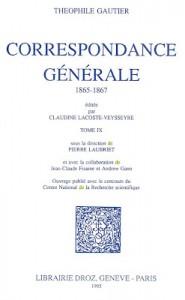 svaif - correspondance Th. Gautier