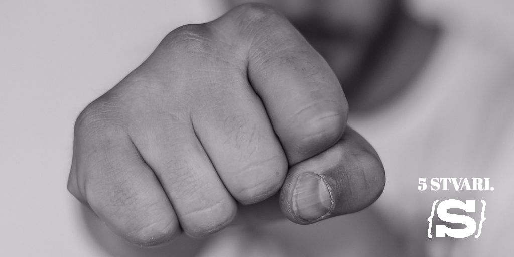 5 stvari koje svaki mladić treba znati o nasilju