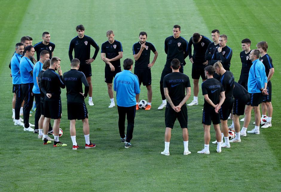 Moskva: Trening hrvatske nogometne reprezentacije | Autor: Igor Kralj/PIXSELL