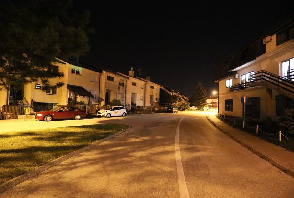 Zaprešić: Ulica u kojoj je mladiću pozlilo te je preminuo | Autor: Jurica Galoic/PIXSELL