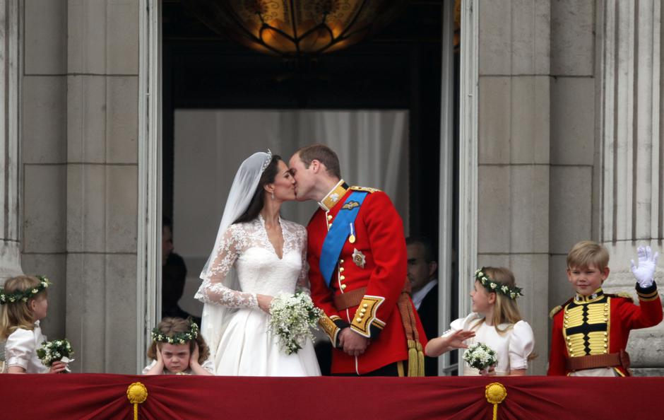 Royal Wedding - Buckingham Palace - The Kiss | Autor: Kay Nietfeld/DPA/PIXSELL