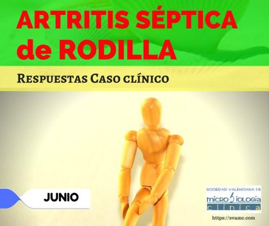 Artritis séptica de rodilla