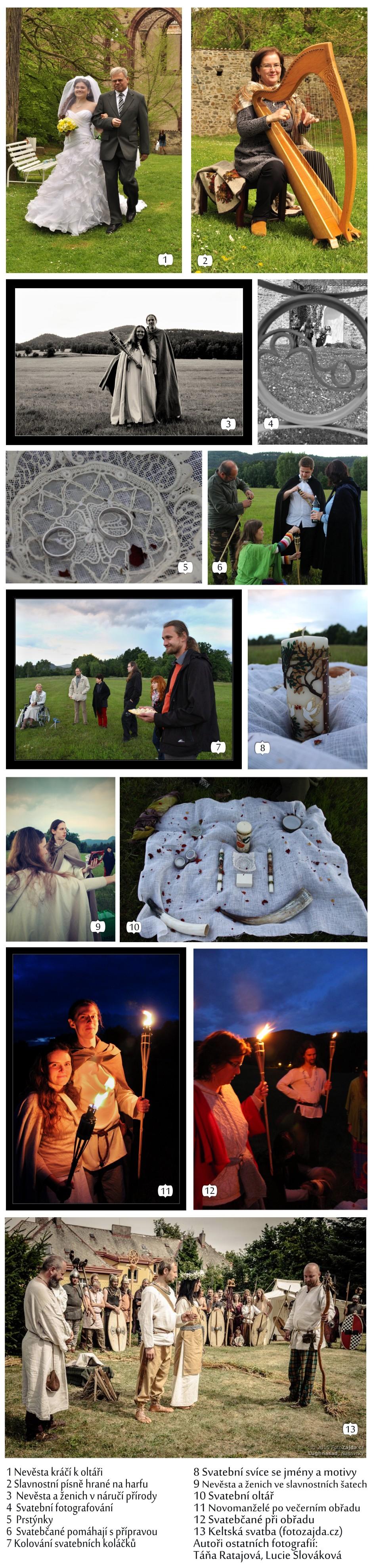 přírodní svatby