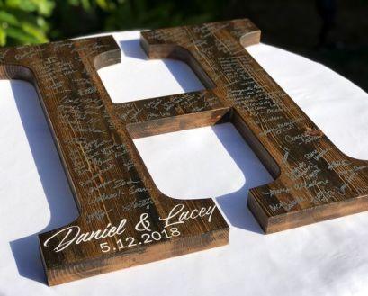 svatba dřevo 2