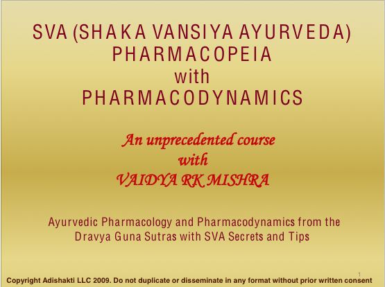 SVA Pharmacopeia Section 2