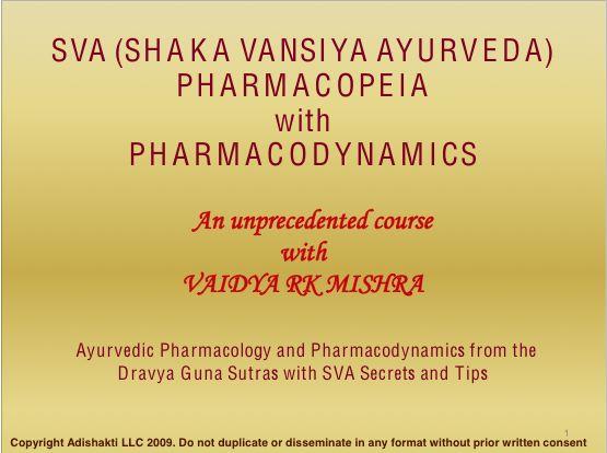 What is Dravya? - Intro to Ayurvedic Phamacopoeia
