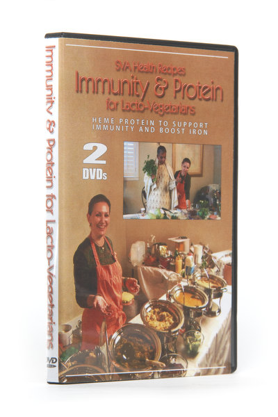 Immunity and Protein for Lacto-Vegetarians Recipes Video DVDs