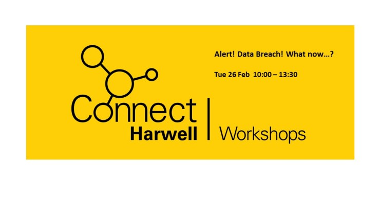 Data breach Harwell Connect