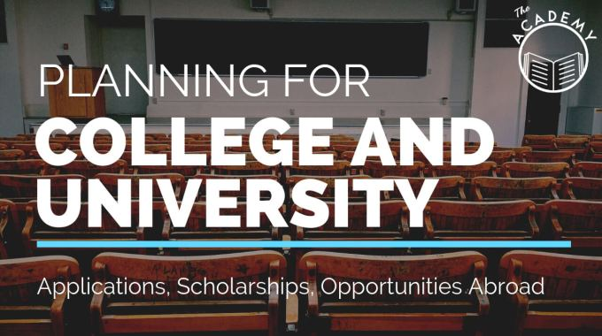 Planning For College And University – Informations About Schools, Scholarships And Free Applications