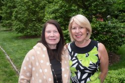 Barbara Ballard and Gudrun Peters. Photo by Andrea Hutchinson, courtesy of The Voice-Tribune.