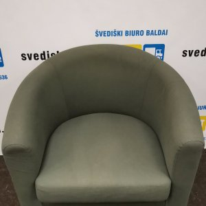 Švediški.lt Ikea Tullsta Žalsvas Fotelis, Švedija