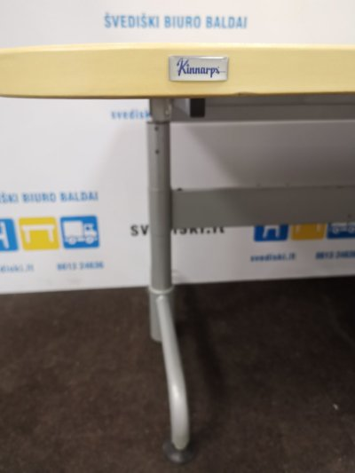 Svediski.lt Swedstyle Reguliuojamo Aukščio Mechanizmas Su Kinnarps Beržo Stalviršiu, Švedija