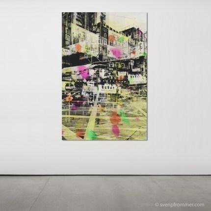 Hong Kong Mixed Media Artworks by Sven Pfrommer
