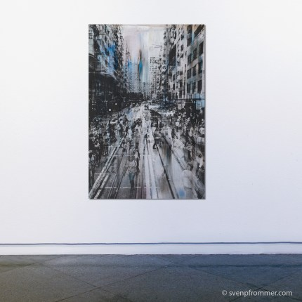 Hong Kong Mixed Media Artworks by Sven Pfrommer
