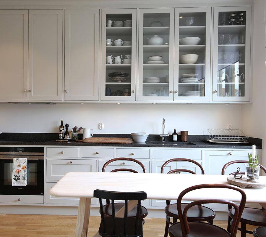 Platsbyggt kök