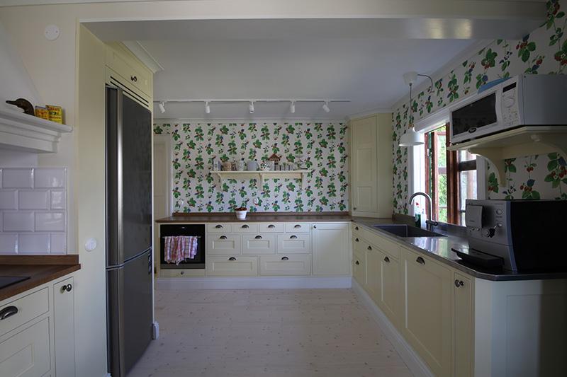 Kök i sommarstuga