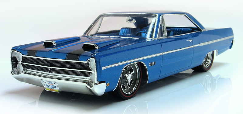 1 1968 Scale Furys Plymouth 1 3 8