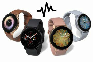Galaxy Watch Active2 ЭКГ