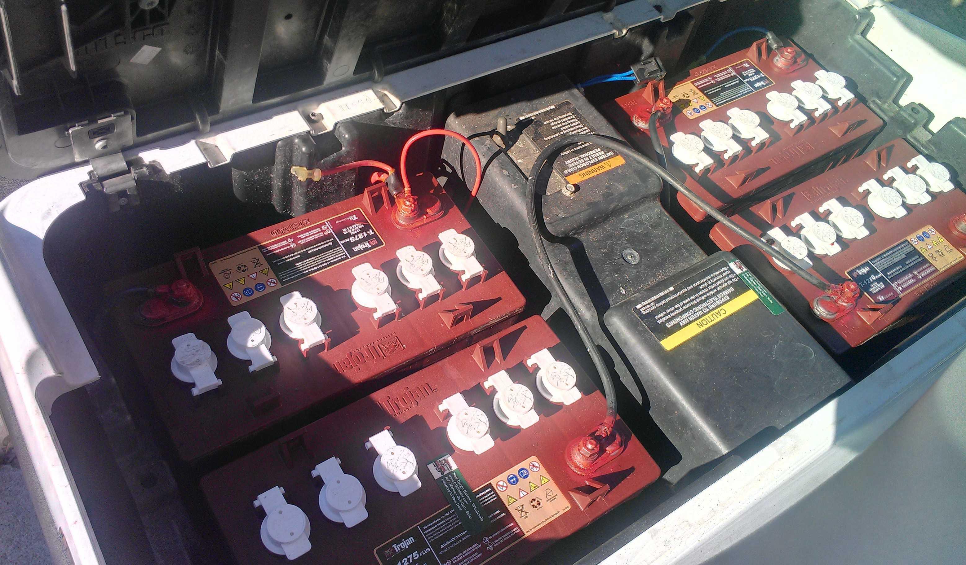 Battery Wiring Diagram For 48 Volt Club Car Golf Cart
