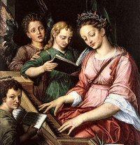 22.11. – sv. Cecilija, djevica i mučenica