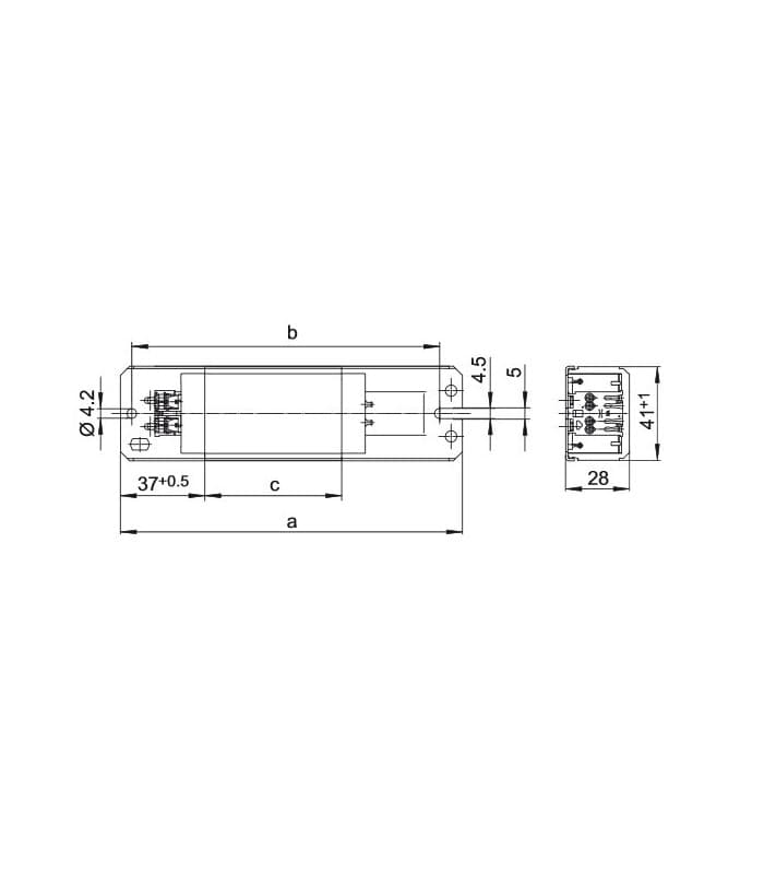Vorschaltgerat LN36.149 230V 50HZ T8, T12, TC-F/TC-L, TC