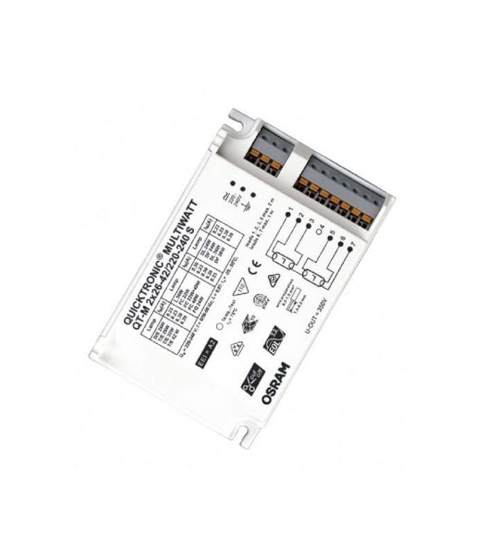 QT-M 2X26-42W 220-240V S Quicktronic Multiwatt QTP-M-2-26