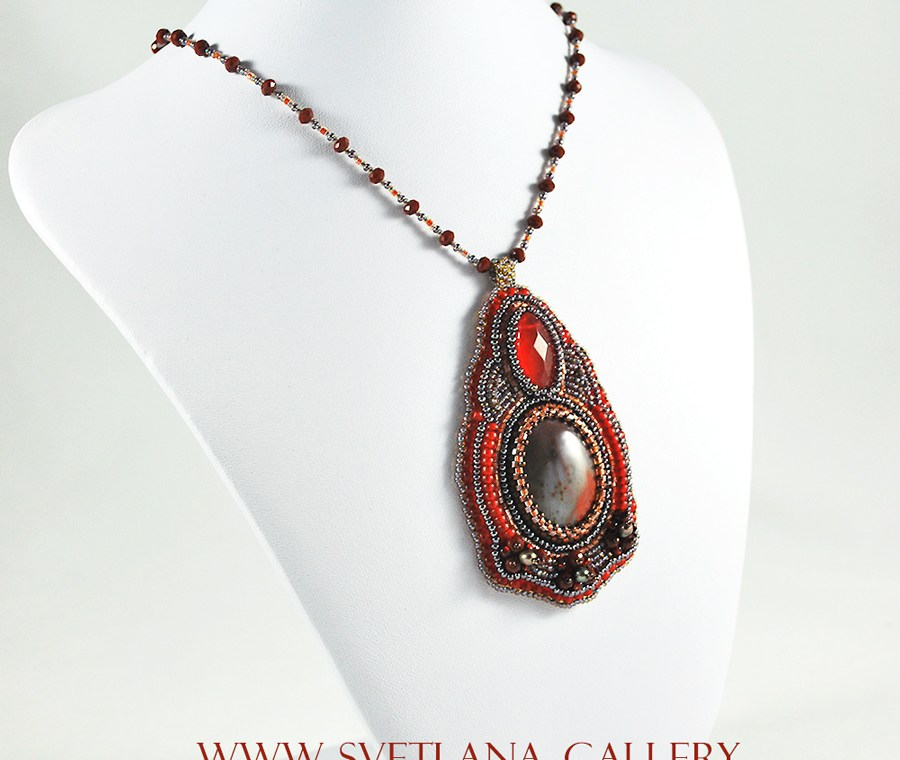 Red Earth Necklace